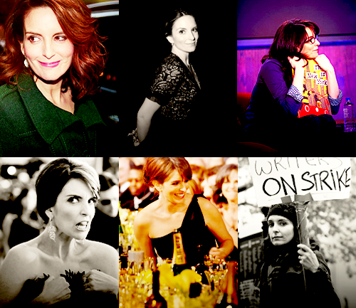 jennamaroney-: Six Favorite Photos| Tina Fey (candids) asked by conniekt and 2 anons
