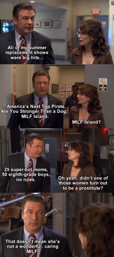 "hilariousquotes: From 30 Rock Episode ""SeinfeldVision"" (Season 2) Jack: All of my summer replacement"