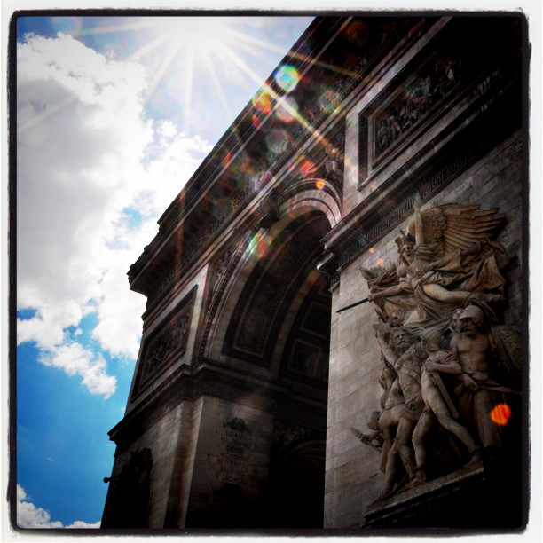Arc de Triomphe #paris #photography (Taken with instagram)