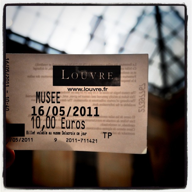 Louvre #paris #photography (Taken with instagram)