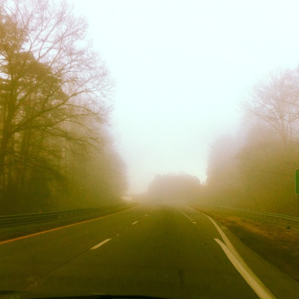 Foggy. #travel (Taken with instagram)