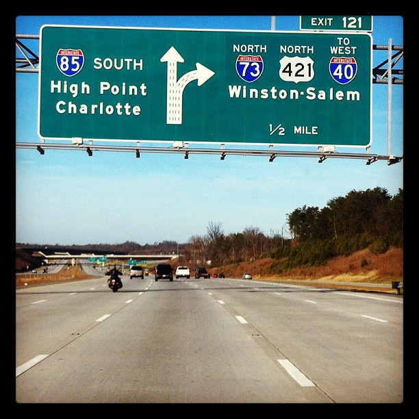 85 South. Feels like home :) #travel (Taken with instagram)