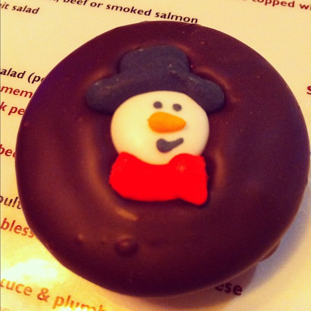 Look what @alantieel got me! #chocolateoreo (Taken with instagram)