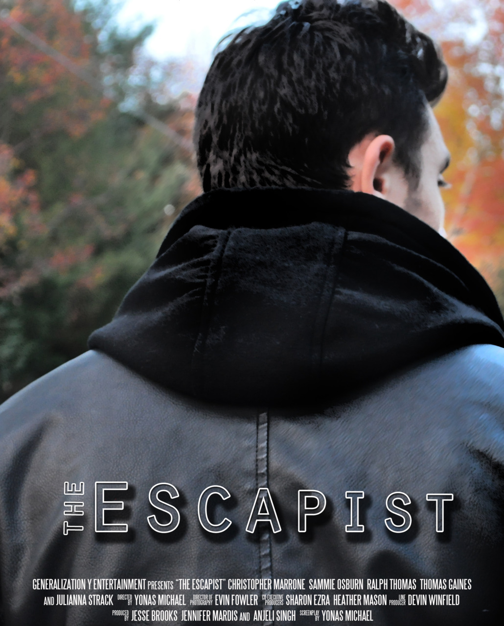 "yonasmichael: First promo poster for The Escapist! ""You can run from the world, but you can't run fr"